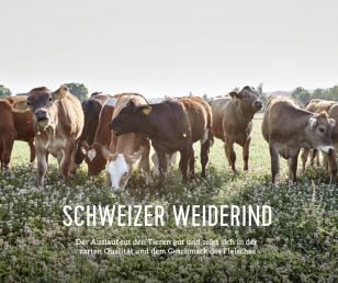 Weiderind (Origine) aus Nachhaltiger Schweizer Haltung.